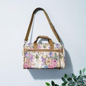 Vintage Floral Traveler's Choice Duffle